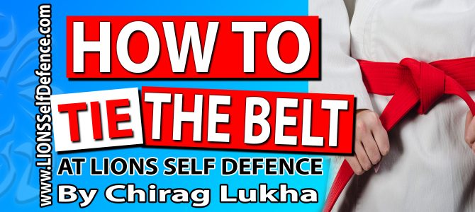 HOW TO TIE THE BELT (2 Min. Read)