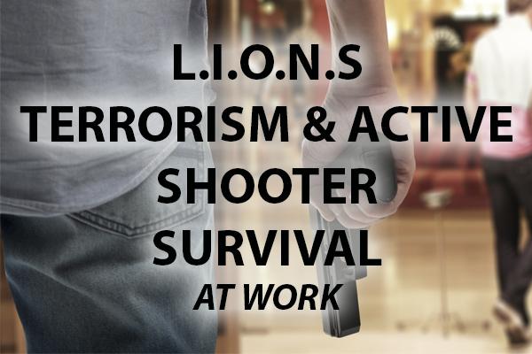 Terrorism Survival & Active Shooter Response Plan