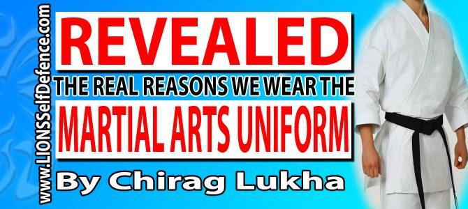 The Martial Arts Uniform & Why it's so IMPORTANT! [5 Min Read]